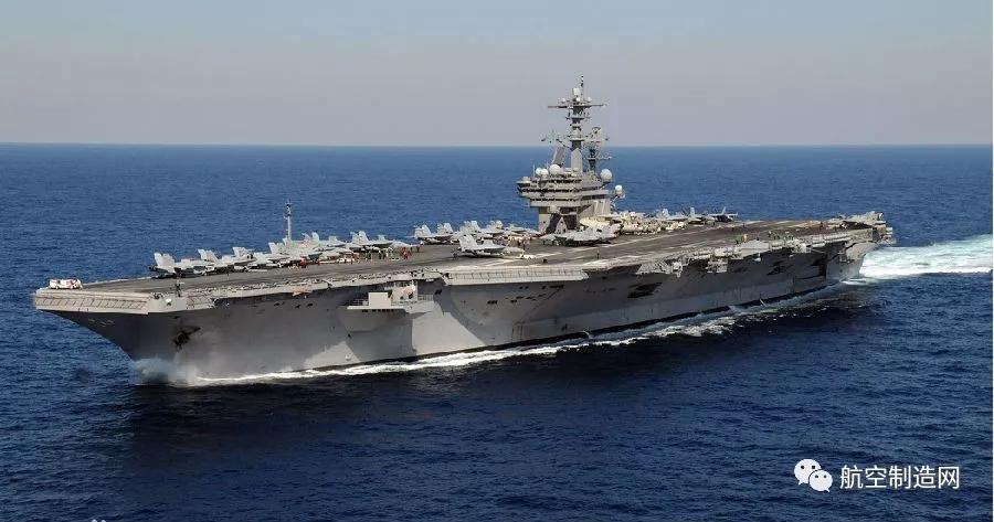 美海军福特号航母内部细节曝光