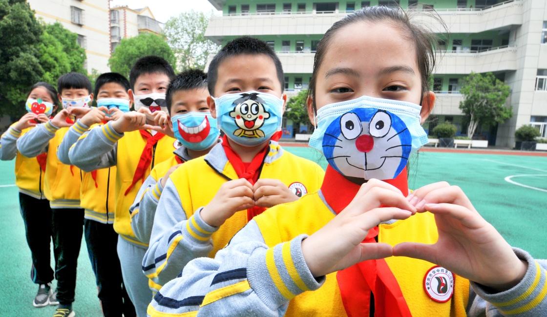 安庆市健康路小学_笑起来真好看 - 中国军网