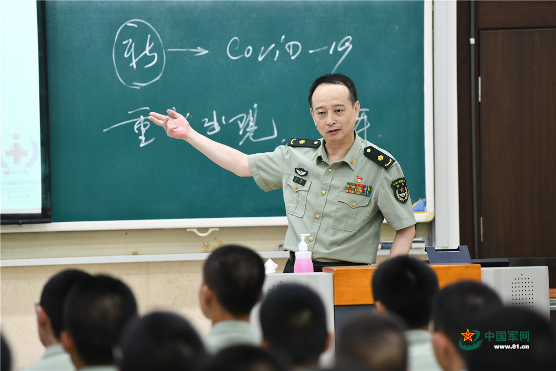 最美新时代革命军人丨毛青:目标只有一个——天下无疫!