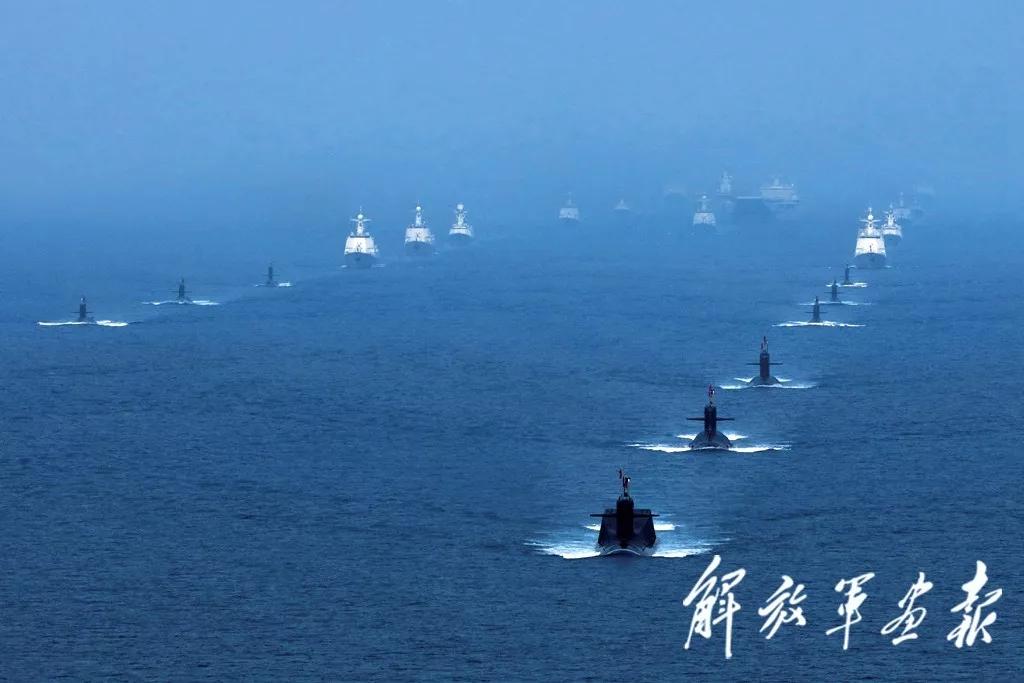 pk10免费计划软件app:南海海域海上阅兵精彩影像曝光,全景呈现盛况!